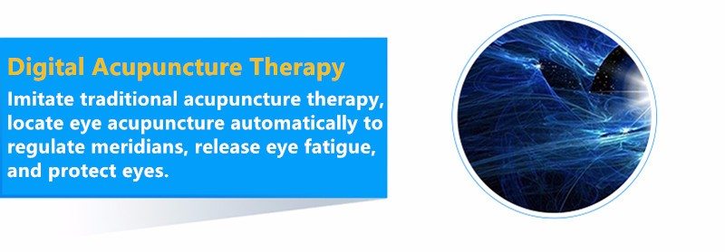 Rechargeable Myopia Cure Machine Short Eye Sight Recovery Device DC Battery Eyes Acupuncture Massaging Massager Laser Radiation  (14)