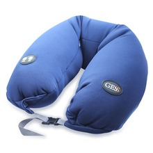 Вибрационная массажная подушка uNeck pro для путешествий, GESS
