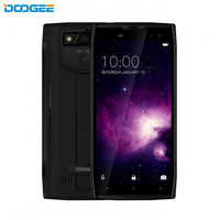 DOOGEE S50 IP68 Waterproof Smartphone 5180mAh Fast Charge 5.7'' Display MTK6763T 2.5 GHz Octa Core 6GB 64GB 16.0MP Quad Cameras