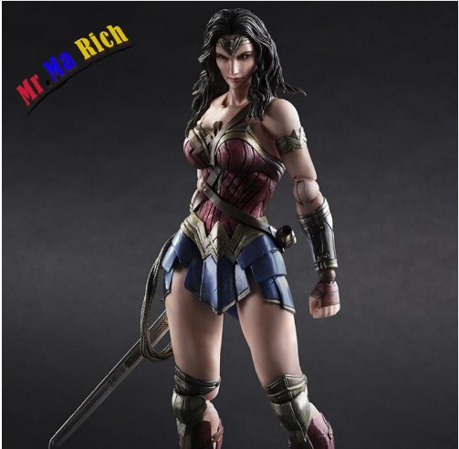 Играть искусств Кай Бэтмен против Супермена Wonder Woman ПВХ фигурку Коллекционная модель 26 см