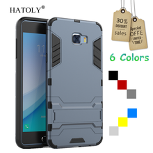 HATOLY For Cover Samsung Galaxy C7 Pro Case Armor Rubber Hard Phone Case for Samsung Galaxy C7 Pro Cover for Samsung C7 Pro