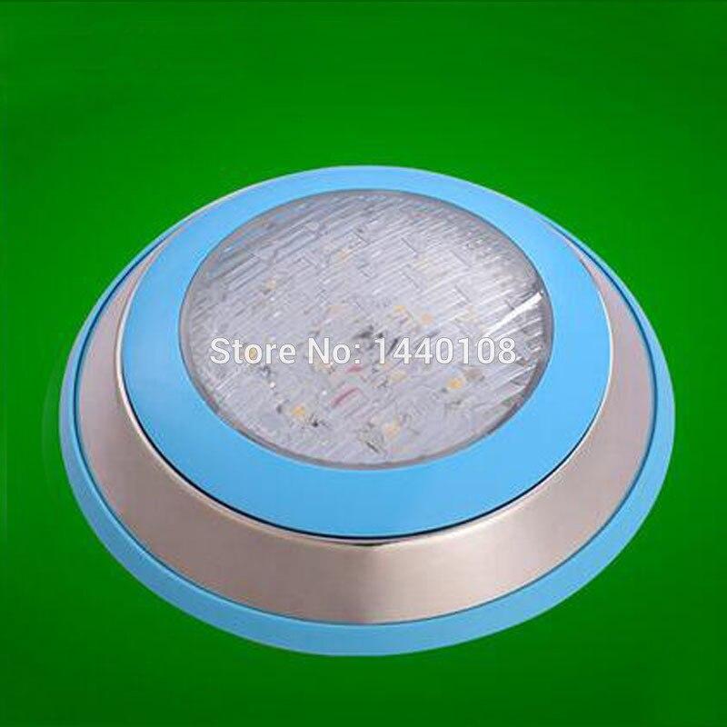 3 pièces 15 w 230mm Led étanche natation Spot lampe blanc chaud RGB Ac12V 24 v piscine nage sous-marine lumières pour étangs lumière Ip68