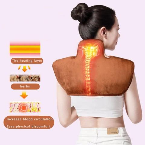 220 v aquecimento eletrico ombro pescoco calor
