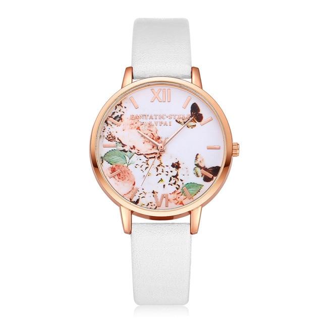 Luxury Ladies Simple Silver Bracelet Womens Watches Casual Quartz Watch Waches W