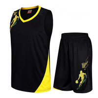 2017 New Kids Basketball Jersey Sets Uniforms Kits Boys Girls Sports Clothing Breathable Child Youth Basketball