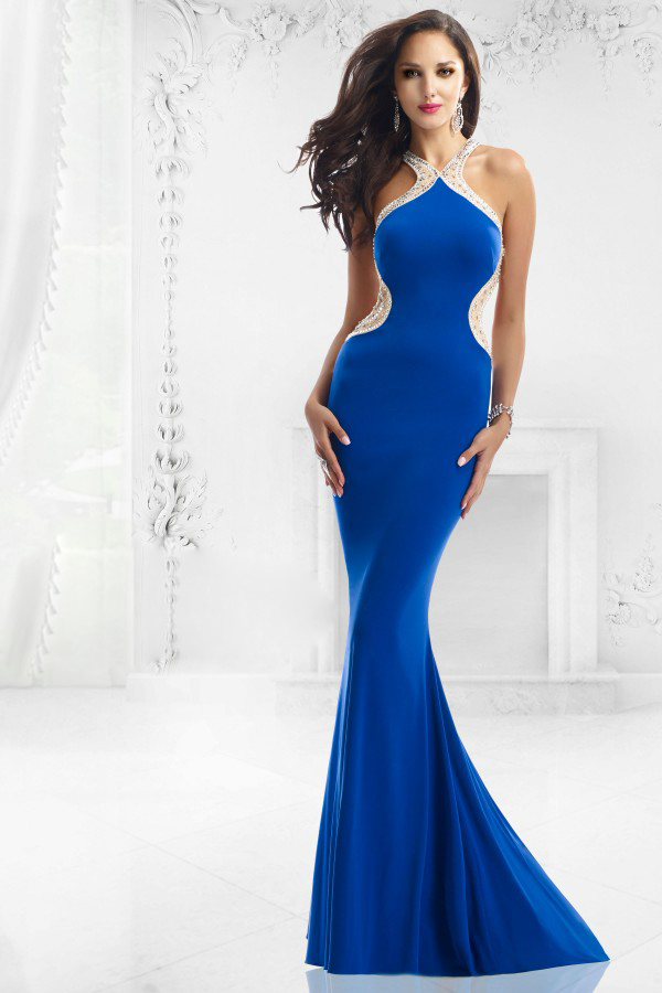 Aliexpress.com : Buy Fashionable Long Prom Party Dresses Sexy ...