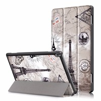 Case For Lenovo Tab 4 10 TB X304F X304N Slim Flip Stand Cover PU Leather Case