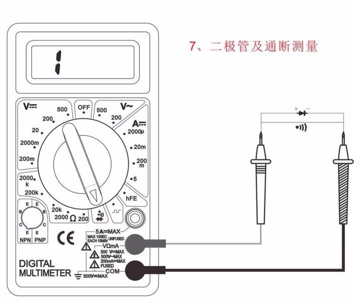 100pcs by dhl fedex Digital Multimeter AC DC Buzzer Voltmeter Ammeter Voltage Ampere Meter DT830D Tester with  Leads  LCD probe 9