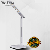 Fonkin Usb Desk Lamp Dimmable LED Eyecare Table Luminaria Flexible Adjustable Portable Lighting Office Bedside Student