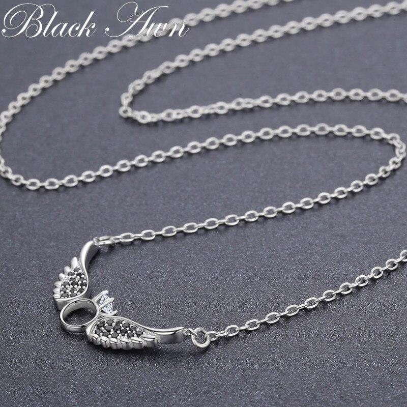BLACK AWN nieuwe aankomst klassieke 925 sterling zilver fijne - Fijne sieraden - Foto 5