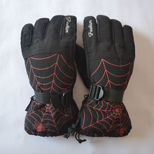 Professional Skiing Gloves Men Warm Winter Waterproof Snow Gloves Male Guantes Snowboard Gloves HXST53