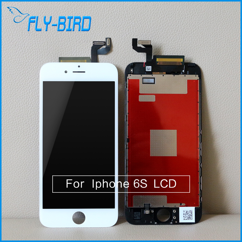 ФОТО 10PCS/LOT LCD For Apple Iphone 6S Display Touch Screen Digitizer Assembly Replacement Free Shipping