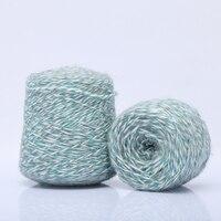 高品質250グラム/ロット天然カシミヤユニークなabアクリル糸美しい編み糸かせ用編み糸1000メートル