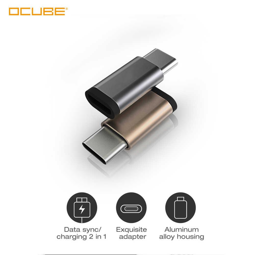 Usb type C штекер для mi cro Usb Женский Usb C адаптер Usb type-c поддержка Otg для Oneplus 7 Pro Xiaomi mi 9 t 9 Max 3 samsung A50 A70