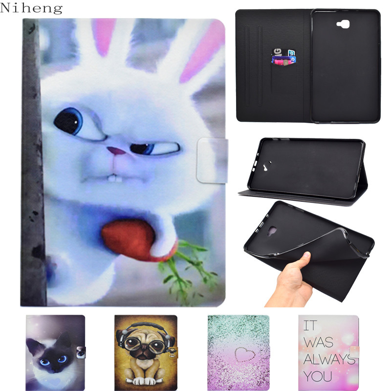 Case For Samsung Galaxy Tab E 9.6 Case SM-T560 Luxury Colourful Smart Stand Holder Cover For Samsung Galaxy Tab E 9.6 T560 Cover 360 rotary flip open pu case w stand for 10 5 samsung galaxy tab s t805 white