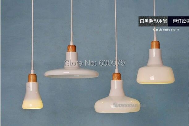 2014 the newest  Fashion  lamp  white  Shade LED single pendant light (4 piece) наушники frends the light straight white