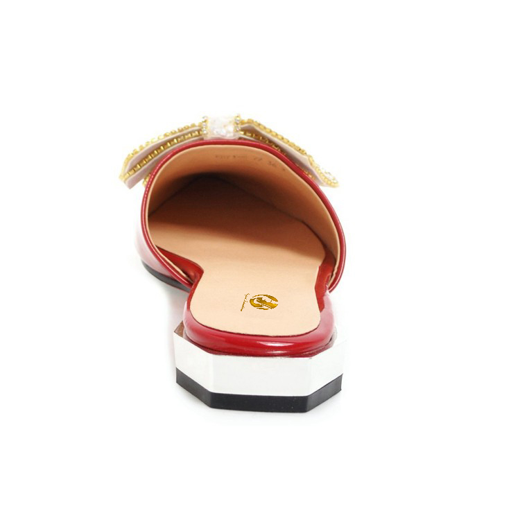f91f85744f82 Original Intention Super Fashion Women Flats Pointed Toe Flat Shoes Black  White Silver Red Rose Pink. sku  32861235248