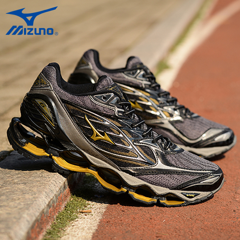 Mizuno Wave Prophecy 6 Professional Sports Men Shoes Outdoor Breathable Mizuno Running Shoes Men Weightlifting Shoes Size 40-45
