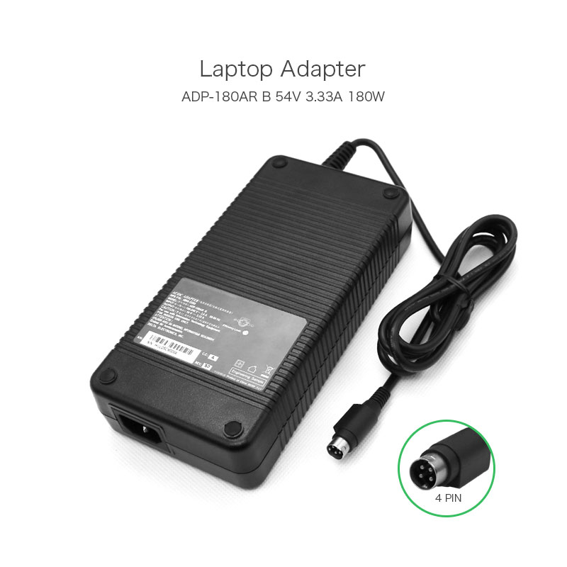 New Arrival 54V 3.33A 180W Laptop AC DC Adapter for HP ADP-180AR B 5066-5599 Notebook Power Supply 4 Holes 19v 9 5a 180w ac laptop adapter power supply for msi gt60 gt70 notebook adp 180eb d charger