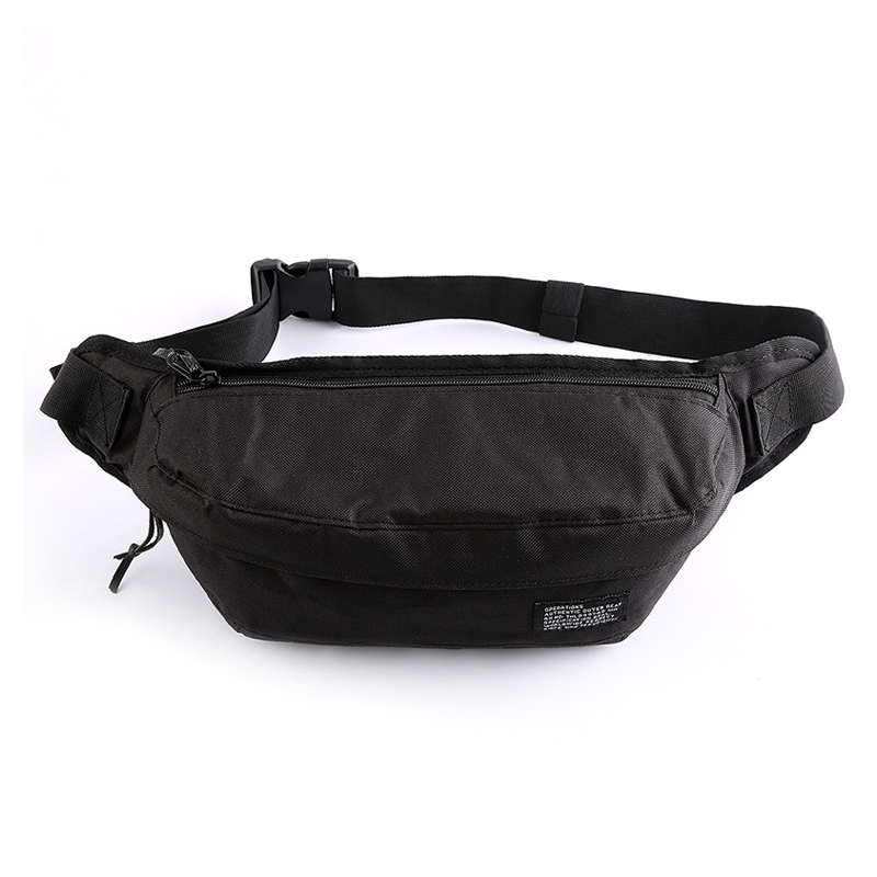Waist Pack For Men Nylon Casual Men's Waist Bags Large Capacity Chest Bag Male Handy Banana Fanny Pack Leisure Travel Pocket Hot