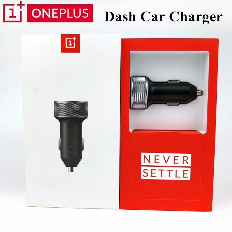 Oneplus d'origine 5 t Dash chargeur de voiture DC01B 3.4 V-5 V/3.5A Charge rapide 5 V = 2A pour un plus 6 5 3 T 3 téléphone portable 100 cm Type C câble