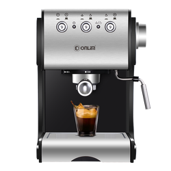 DL-KF500S Coffee Machine Household Semi-Automatic Espresso Machine Commercial Steam Type Milk Foam Play Milk Bubble