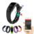 1 unid nuevas mujeres de los hombres deportes de pulsera inteligente pulsómetro actividad gimnasio muñequera regalo de smart watch relojes h4