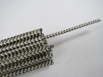 100STRIP LUTHIER FIGURED PURFLING C-87,Measure2.5mm x 1.0mm thick and 640mm long