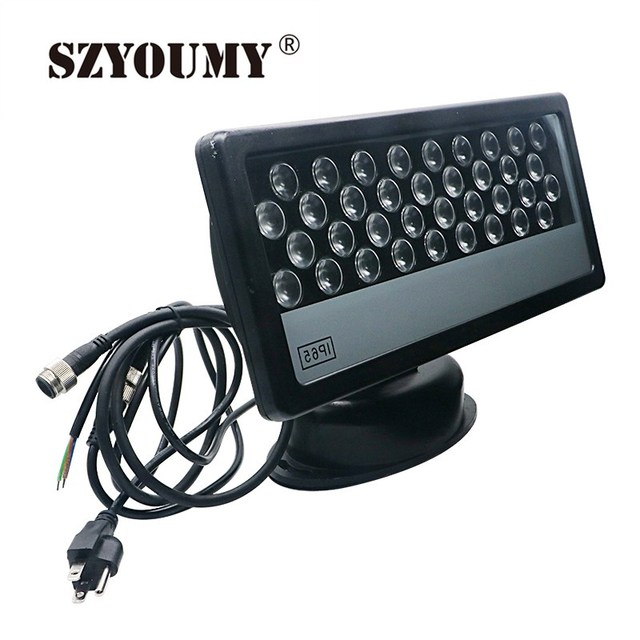 SZYOUMY 36x1W RGB Outdoor LED Floodlight 36W Wash Light Led Wall Washer DMX512 Stage Light High Power 2PCS