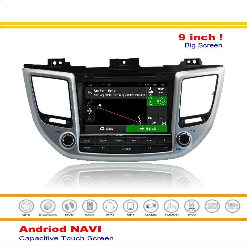 Android Sistema de Navegación Multimedia de coche Para Hyundai IX35/Tucson 2015