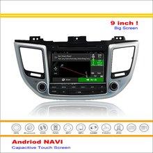 Car Android Media Navigation System For Hyundai IX35 Tucson 2015 2016 Radio Stereo Audio Video Multimedia