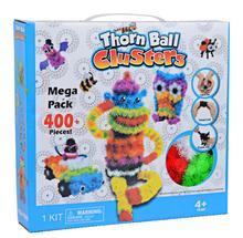 Puzzle 3D DIY de Puff Ball bola exprimida, pelota Espinosa creativa hecha a mano, juguetes rompecabezas educativos para niños