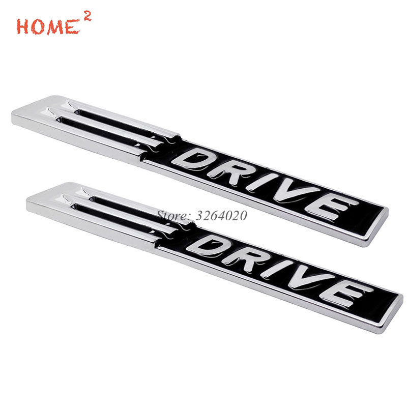 Car Accessories Metal Badge Stickers 3D Auto Emblem Decals for Polished EDRIVE E DRIVE Logo for BMW E39 E46 F10 X5 F20 E53 F20 auto chrome camaro letters for 1968 1969 camaro emblem badge sticker