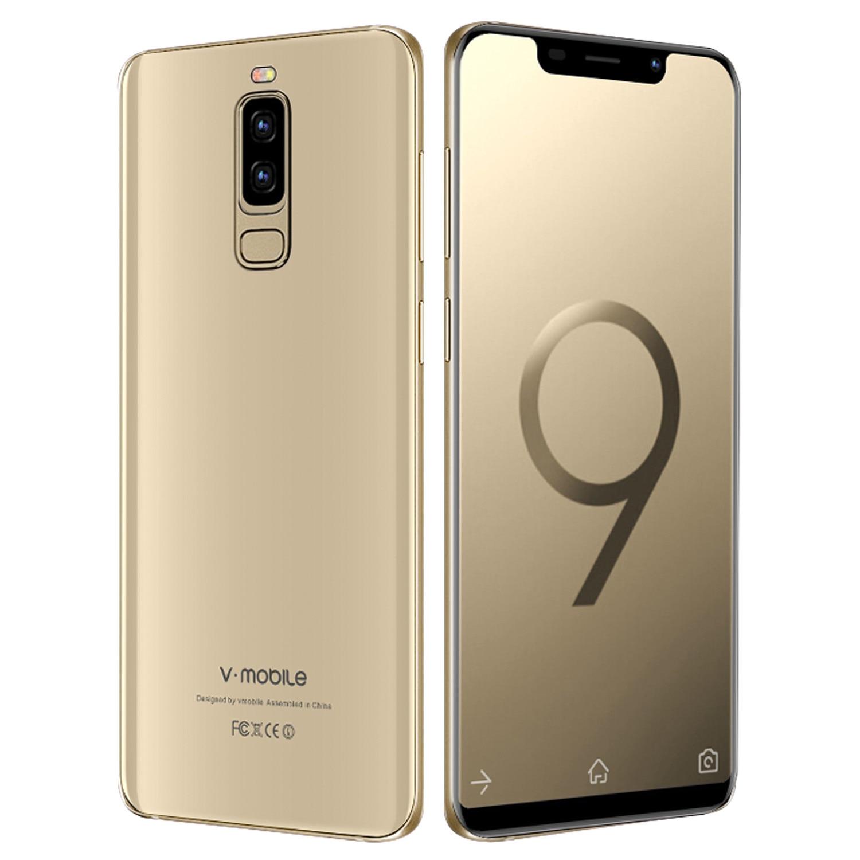 4G LTE TEENO VMobile S9 Mobile Phone Android 7 0 5 84 19 9 Full Screen