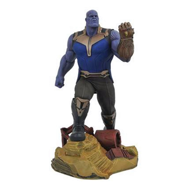 Avengers:Infinity War Art Gallery Series Thanos Infinity Gauntlet PVC Action Figure Collection Model Toy X1343Avengers:Infinity War Art Gallery Series Thanos Infinity Gauntlet PVC Action Figure Collection Model Toy X1343