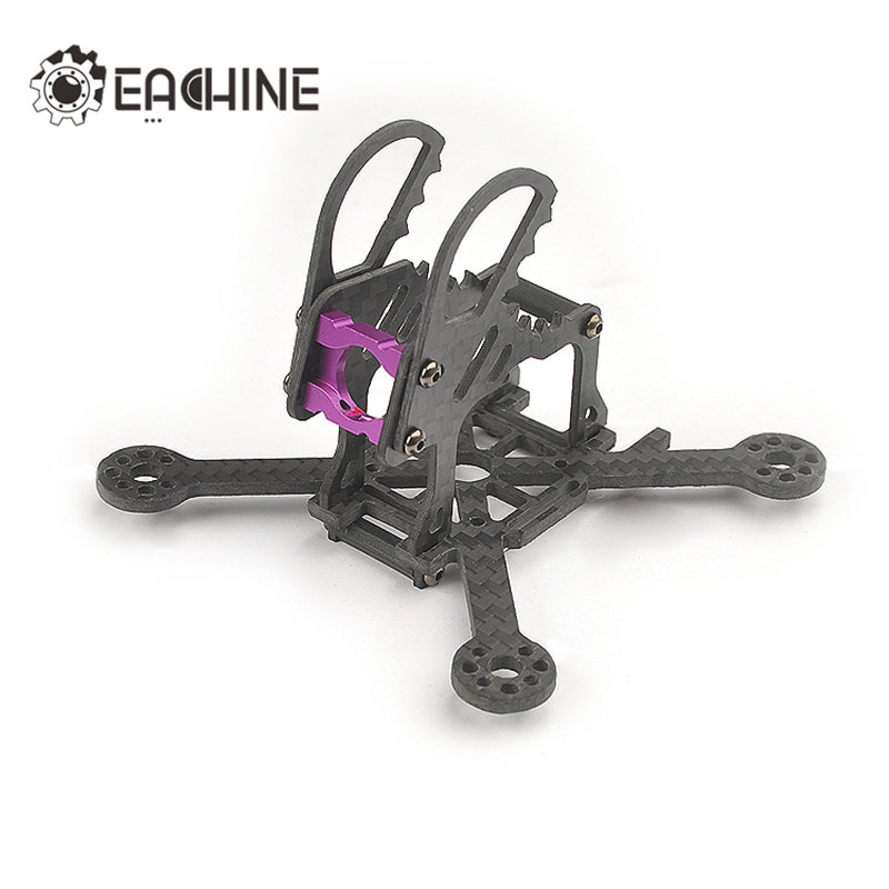 Eachine Lizard95 Spare Part 95mm Wheelbase 2.5mm Thichness Carbon Fiber Frame Kit For RC Multicopter Replace Accessories Motors 2pcs eachine falcon 250 carbon fiber arm motor mount spare parts for mini drone quadcopter rc helicopter multicopter part