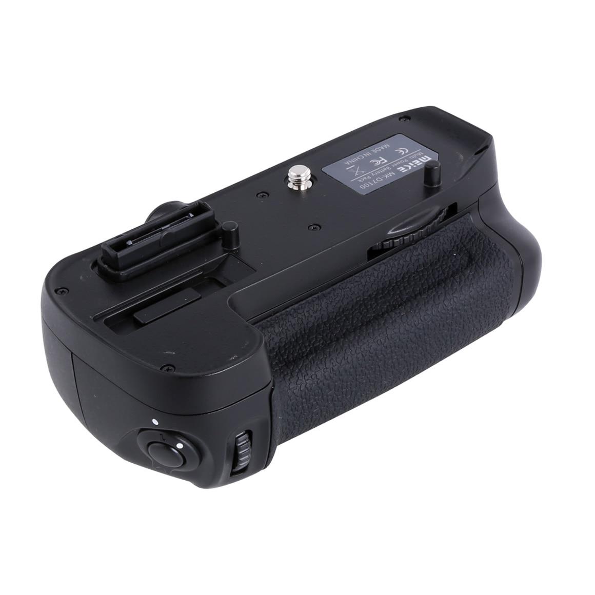 Meike MK-D7100 poignée de batterie verticale pour Nikon D7100/D7200 appareil photo remplacer MB-D15 comme EN-EL15