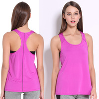 Women S Summer Quick Drying Sporting Vest Breathable Fitness Tank Top Solid Color Workout Tanks Athleisure