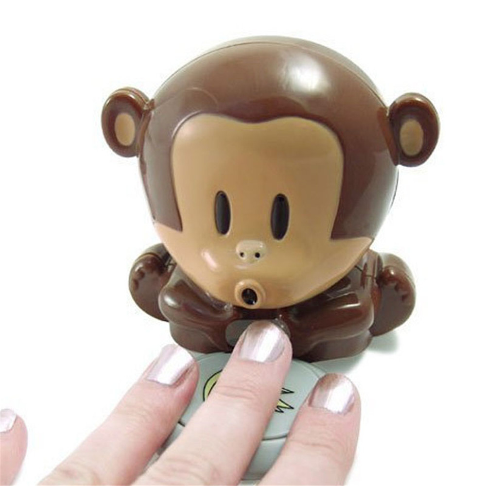 Nageltrockner Nails Art & Werkzeuge WohltäTig Kreative Reizende Nette Kleine Finger Trocken Mini Affe Blasen Nagellack Trocknen Trockner Nail Art Maniküre Werkzeuge