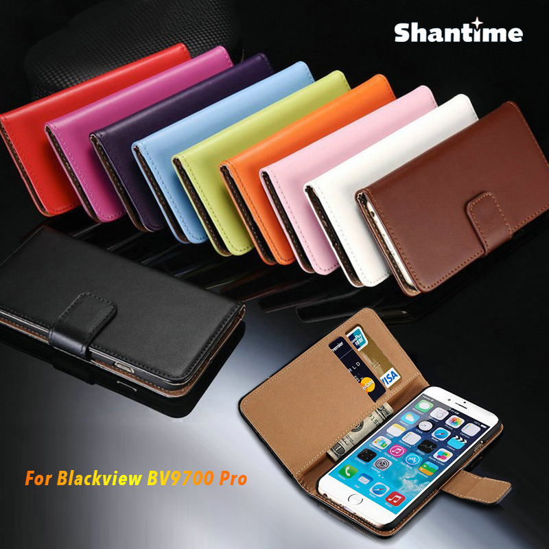 PU Leather Phone Case For Blackview BV9700 Pro Flip Case For Blackview BV9700 Pro Business Case Soft Silicone Back Cover