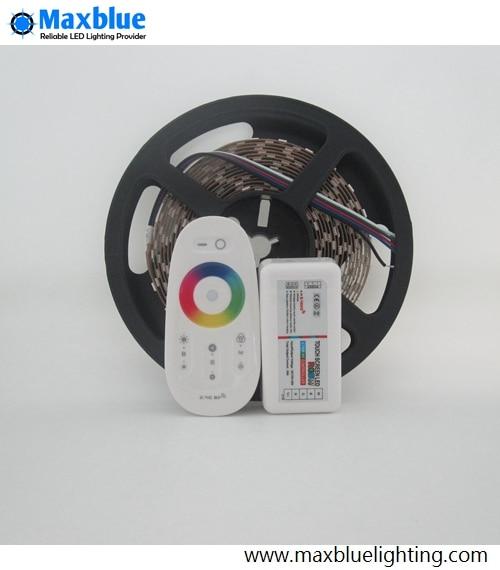 RGBW/RGBWW Светодиодные ленты огни 5 м DC12V 300 шт. 5050smd светодиодный лента с 2,4 ГГц RGBW Wi Fi контроллер комплект - 3