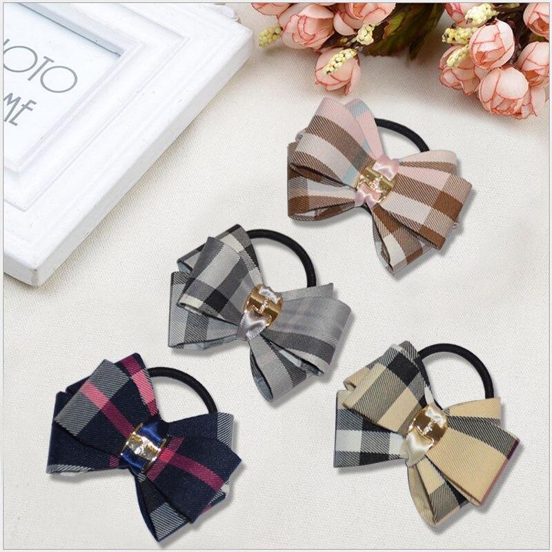2018 Elastīgas matu lentes sievietēm un meitenēm Matu loki kaklasaites Styling piederumi meitenēm