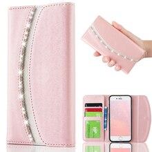 Luxury Wallet Leather Case For Sony Xperia X XA XA1 Ultra Elegant Phone Bag Bumper Cover