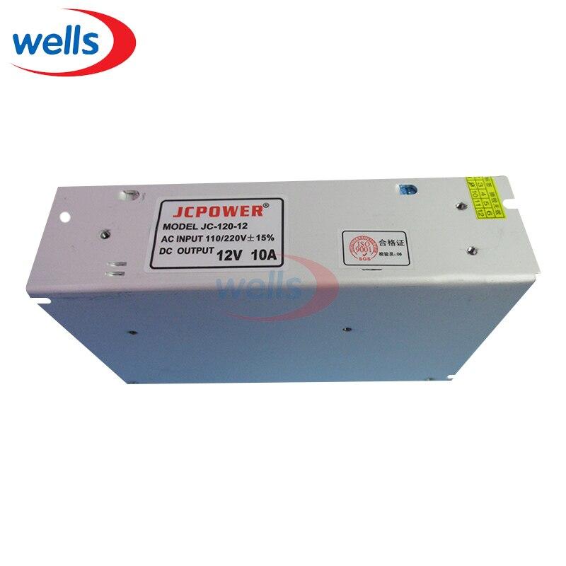 12V 10A 120W Transformador de fuente de alimentación conmutada regulada universal AC 110 / 220V
