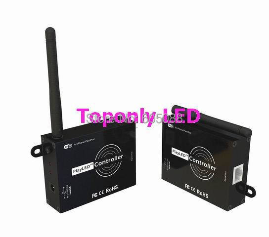 DC5-24V 100 W Jouer LED APPLICATION RVB WIFI LED de contrôle Pour LPD1109 6803 8803 WS2801 SM16716 TM1803 1809 LED Numérique Chasse Ruban 50 p