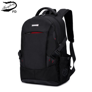 Fengdong school backpacks for boys children bags student notebook backpack boy laptop bag 15.6 new arrival 2018 gift - discount item  45% OFF School Bags