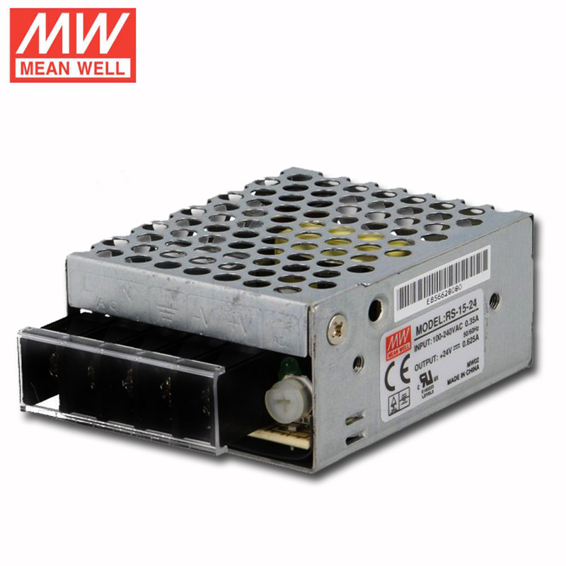 US $7 17 |15W 24v smps power supply circuit Meanwell RS 15 24 110VAC to  24VDC-in Switching Power Supply from Home Improvement on Aliexpress com |