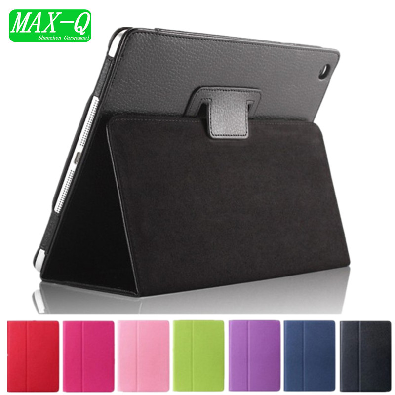 Matte Litchi Surface Flip PU Leather Case for apple Ipad Mini 1 2 3 with Retina Smart Stand Magnetic Sleep Wake UP Pouch Cover luxury litchi pattern smart leather cover for ipad 5 ipad air with retina sleep wake up with belt handhold stand skin pouch case