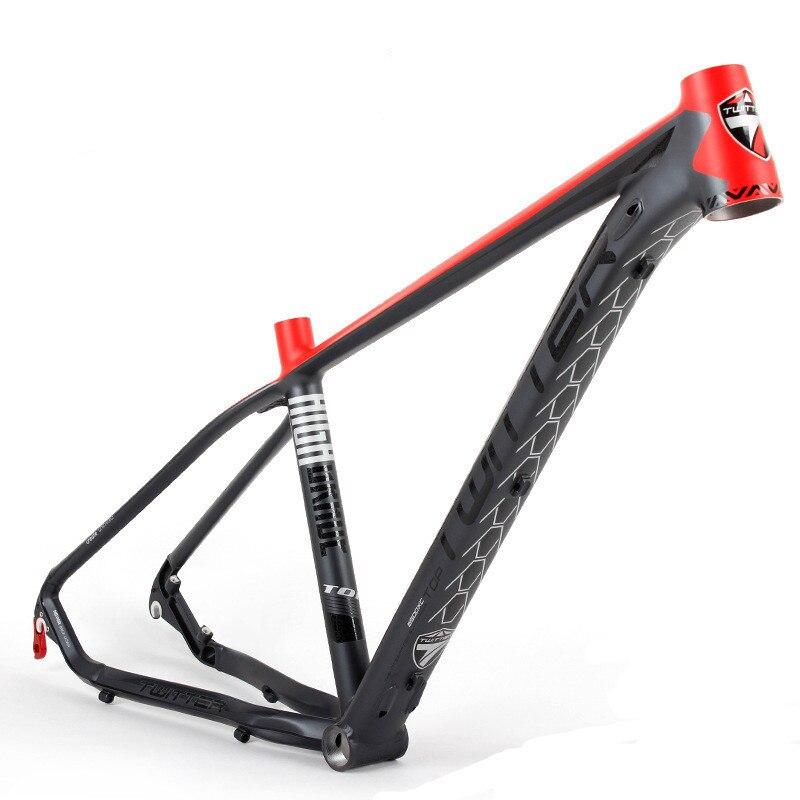 где купить MTB Aluminum alloy mountain bike frame 31.6 seat tube 26/27.5inch дешево