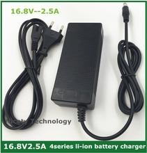 16,8 V 2,5 A 16,8 V 2,5 EINE lithium li ion batterie ladegerät für 4 serie 14,4 V 14,8 V lithium li ion polymer batterry pack gute qualität